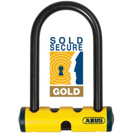 ABUS ABUS U-MINI 401 YELLOW D-LOCK: