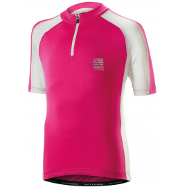 ALTURA KIDS SPRINT SHORT SLEEVE JERSEY 2016: PINK/WHITE 7-9 YEARS