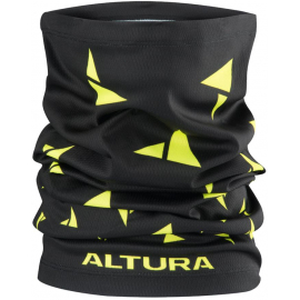 Altura ALTURA NECKWARMER 2018: BLACK/HI-VIZ YELLOW ONE SIZE
