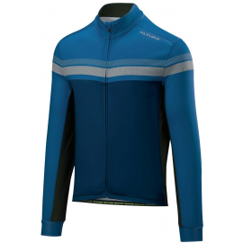 ALTURA NIGHTVISION 4 LONG SLEEVE JERSEY 2018: TEAL/BLUE M