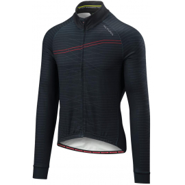 ALTURA THERMO LINES LONG SLEEVE JERSEY 2018: BLACK/RED 2XL