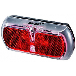 Apollo rear carrier light, dynamo with 4 minute standlight