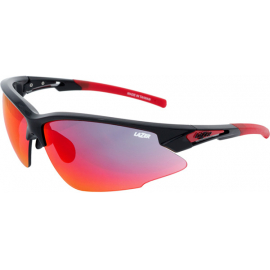 Argon Race ARR, Gloss Black, Grey/Red Lens 3pk