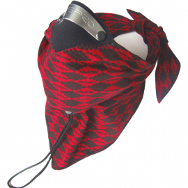 Bandit Scarf Red Diamond