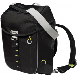 BASIL REAR CYCLE BAG -  MILES DAYPACK:14 LITRE