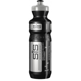 Black and Silver PRO SiS water bottle, 800 ml