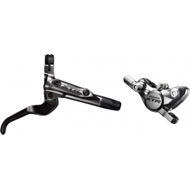 BR-M9000 XTR bled I-spec-II ready brake lever/Post mount calliper - front
