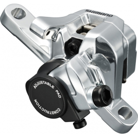 BR-R517 calliper, without rotor, IS mount, rear, silver
