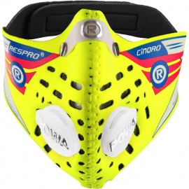 Cinqro Mask Floro Yellow X-large