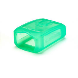 CM-JK01 silicone jacket for CM-1000 Shimano sport camera, clear green