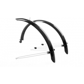 Commute full length mudguards 24 x 60mm black