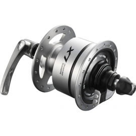DH-T670 Deore LX 6v 3.0w quick release dynamo front hub, 36h, silver