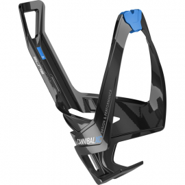 Cannibal XC bottle cage gloss black / blue