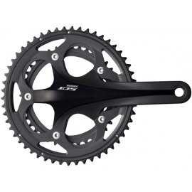 FC-5750 105 Compact chainset - HollowTech II 175 mm 50 / 34T black