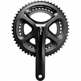 FC-5800 105 double chainset, HollowTech II 170 mm 50 / 34T, black