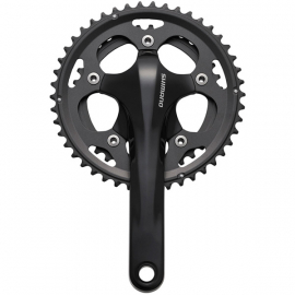 FC-CX50 cyclocross chainset, 10-speed 2-piece design 46 / 36T 175 mm, black