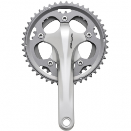 FC-CX50 cyclocross chainset, 10-speed 2-piece design 46 / 36T 175 mm, silver