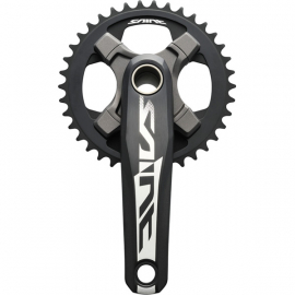 FC-M825 Saint crank arms and 83 mm bottom bracket 165 mm