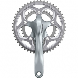 FC-RS500 double chainset, 2-piece design, 46 / 36T, 175 mm, silver