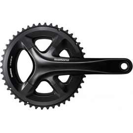 Shimano 105 FC-RS510 double chainset, 46 / 36T, for 135/142 mm axle, 172.5 mm, black