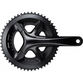 Shimano 105 FC-RS510 double chainset, 52 / 36T, for 135/142 mm axle, 172.5 mm, black
