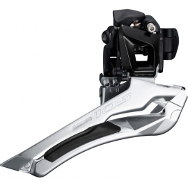 Shimano 105 FD-5801 105 11-speed front derailleur, double 28.6 / 31.8 mm, black