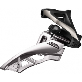 FD-M9000-H XTR triple front derailleur, side swing, side pull, high clamp