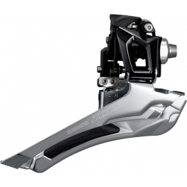 FD-R7000 105 11-speed toggle front derailleur, double 28.6 / 31.8 mm, black