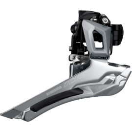 FD-R7000 105 11-speed toggle front derailleur, double 28.6 / 31.8 mm, silver