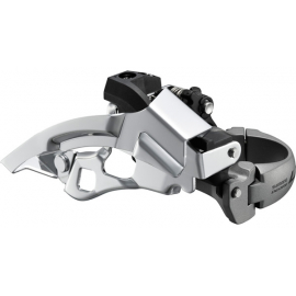 FD-T670 LX front derailleur, top-swing, dual-pull and multi fit, 63-66 deg