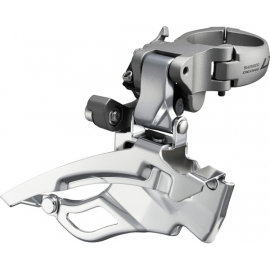 FD-T671 LX front derailleur, down-swing, dual-pull and multi fit, 63-66 deg