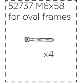 Fitting screws for Ridealong  long (58 mm)
