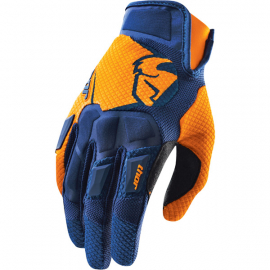 Flow gloves S15 navy / orange large