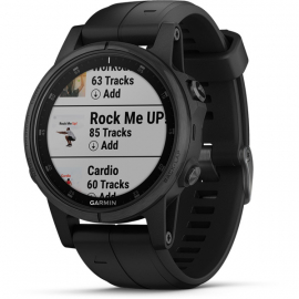 fenix 5S Plus GPS Watch - Sapphire Edition - Black