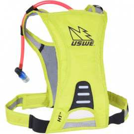 H1 Racer Hydration Pack with 500ml Disposable Bladder Crazy Yellow