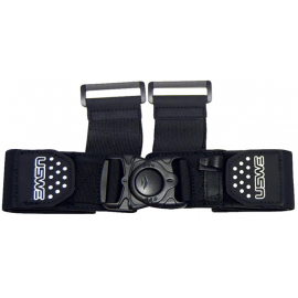 Harness Front Strap (XC + Moto) Adult One Size Black
