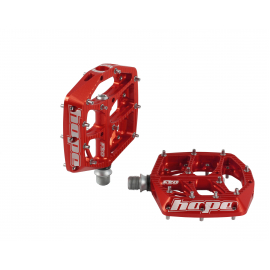 F20 Pedals - Pair Red