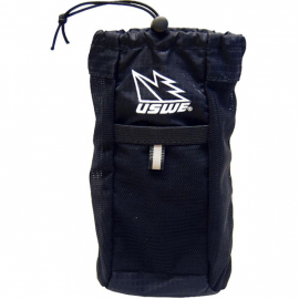 Hydration Chest Pocket. Compatible With All USWE 4-Point Harnesses Black