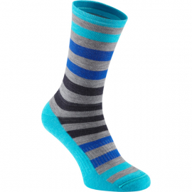 Isoler Merino 3-season sock, blue fade medium