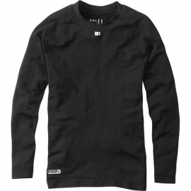 Isoler mesh men's long sleeve baselayer, black X-large / XX-large