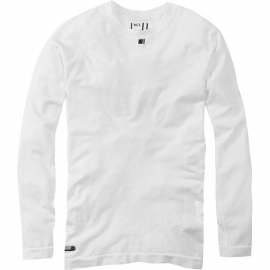 Isoler mesh men's long sleeve baselayer, white X-small / small
