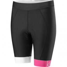 Keirin Women's Shorts, Black / Very Berry Size 8