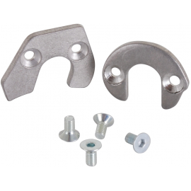 KUK - Dropout Spacers - 1 DS / 1 non DS / 4 bolts