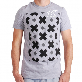 KUK - T-Shirt - We Are Cross - Mens - Heather Grey - Small