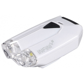 Lava super bright micro USB front light with QR bracket white