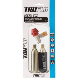 Micro CO2 Pump - Including 2 x 16 g Cartridges, 3 Pack
