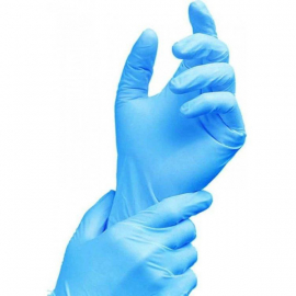 Nitrile Disposable Gloves POWDER FREE BLACK (100)