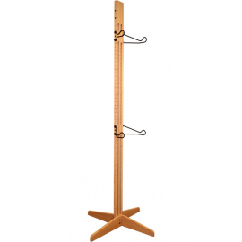 OakRak Freestanding 2 to 4- bike rack - Golden Pecan
