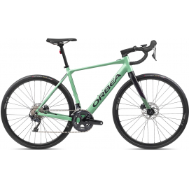 GAIN D20Pastel Green (Gloss)- Black (Matte)