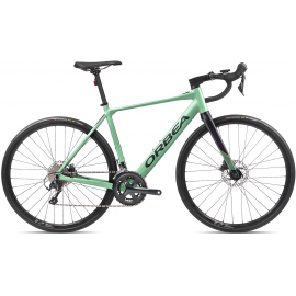 GAIN D40Pastel Green (Gloss)- Black (Matte)